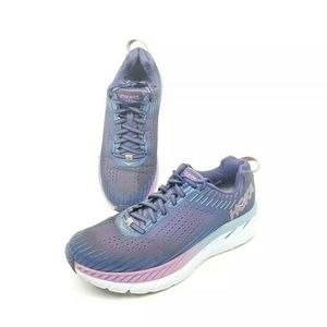 Hoka One One Clifton 5 Womens Running Shoes Sz 8.5